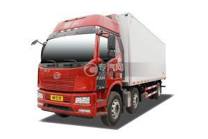 解放J6L小三轴国五8.7米冷藏车