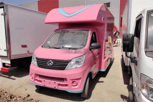 長安流動售貨車(粉色)圖片