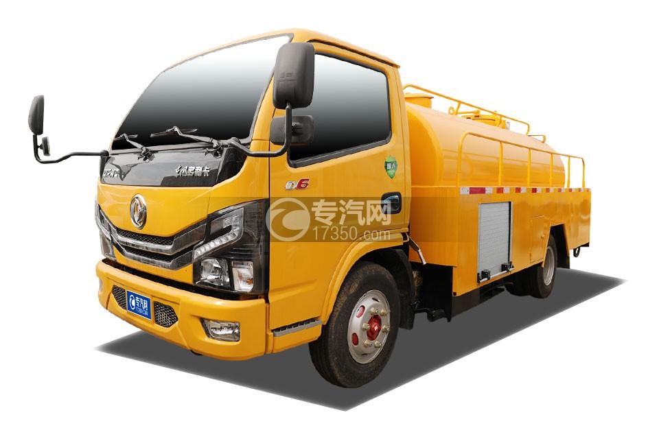 东风多利卡D6国六3.52方清洗吸污车