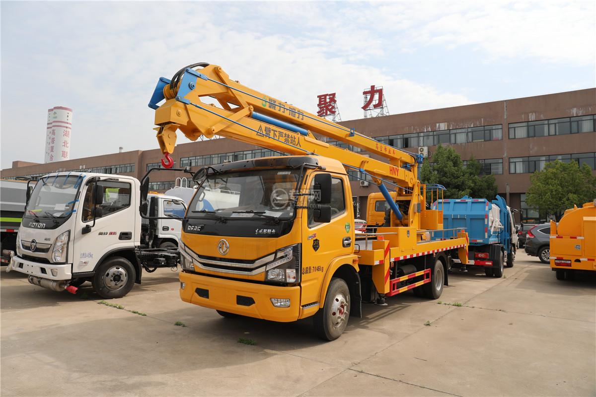 东风多利卡D7国六18米折叠臂式高空作业车