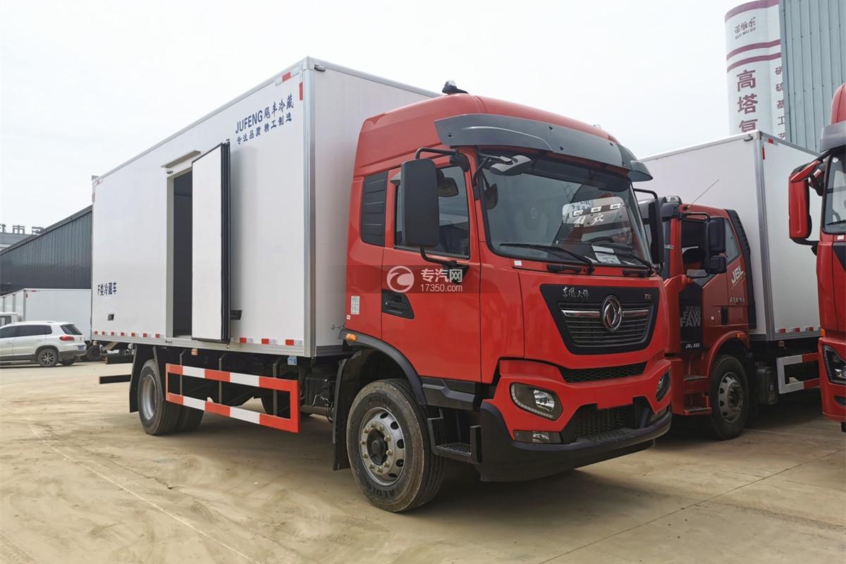 东风天锦KR国六7.88米冷藏车图片
