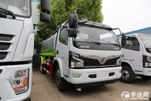 東風國六3.8米軸距的灑水車福瑞卡F7、多利卡D7及凱普特K7大比拼