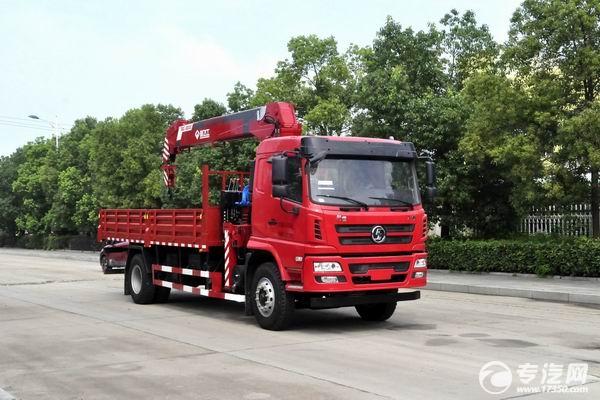 陕汽轩德X6单桥8吨直臂随车吊