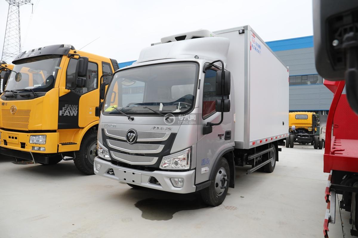 福田欧马可S1国六4.04米冷藏车