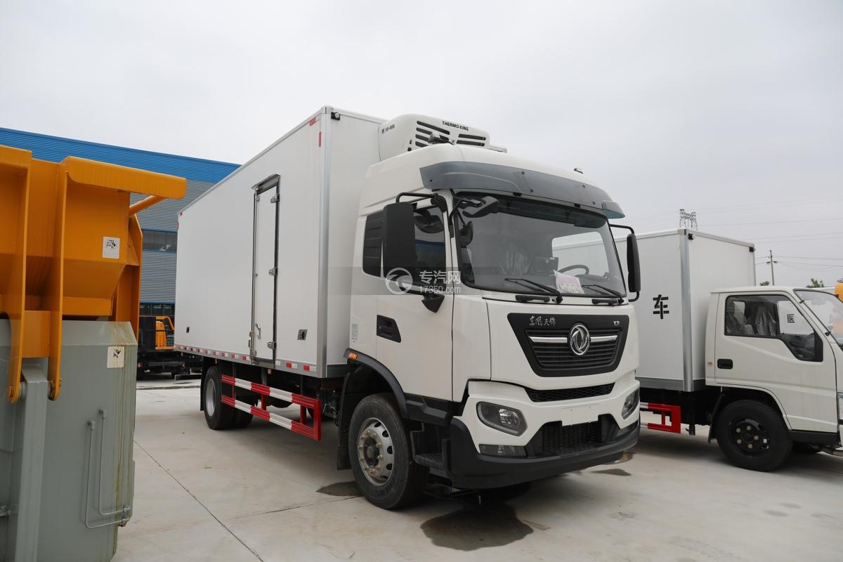 东风天锦KR国六6.08米冷藏车
