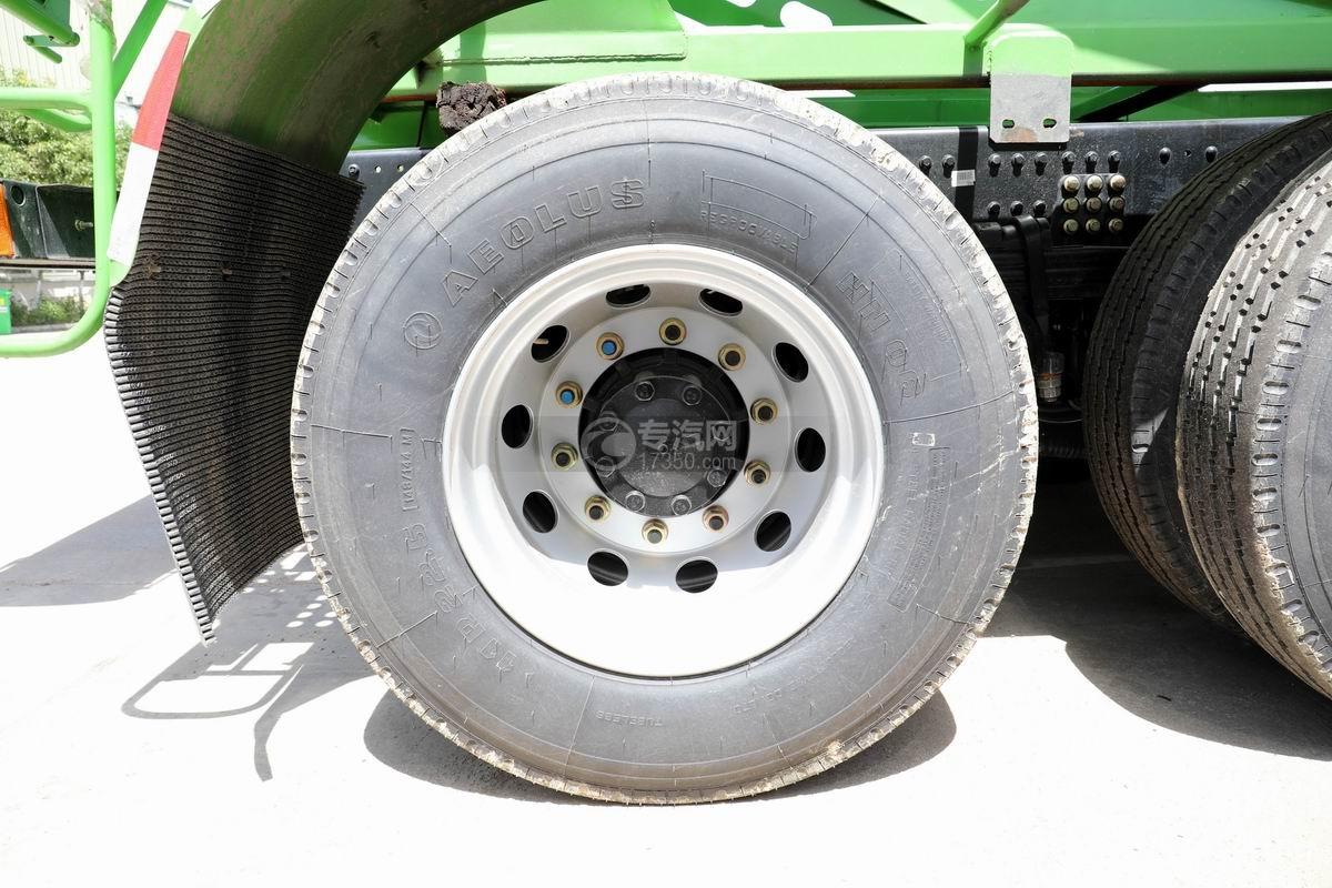 东风天锦前四后八8方搅拌车轮胎