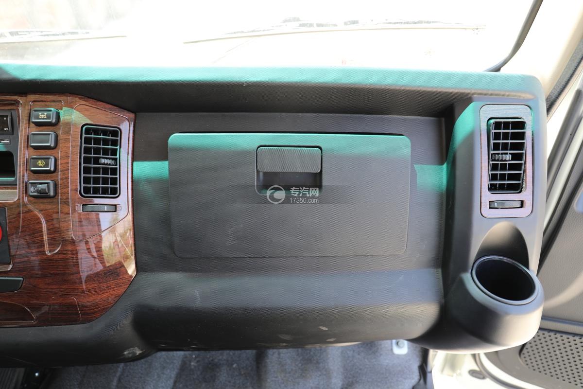 大运新奥普力国六30米抑尘车储物盒