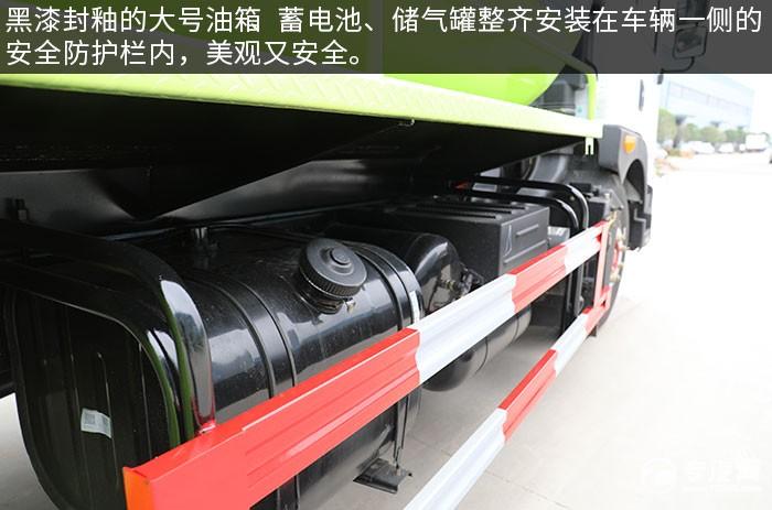 东风多利卡D9国六吸粪车评测油箱