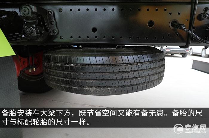 东风多利卡D9国六吸粪车评测备胎