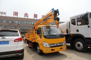 福田小卡之星3單排14米折疊臂式高空作業車圖片