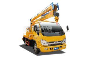 福田小卡之星3单排14米折叠臂式高空作业车