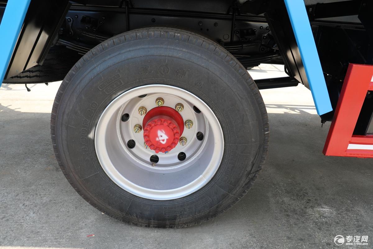 东风福瑞卡F7国六洒水车轮胎
