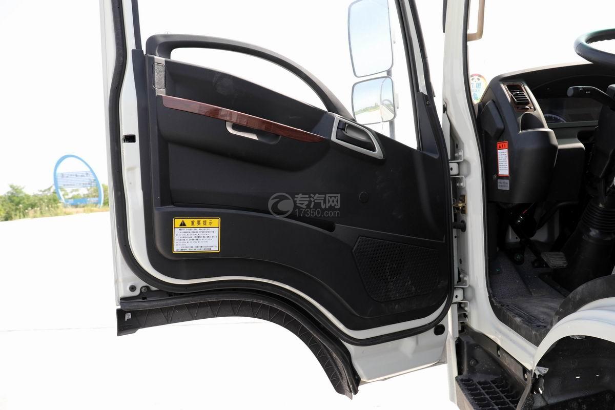 大运新奥普力单排国六车厢可卸式垃圾车车门