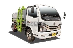 國六東風多利卡D6自裝卸式垃圾車