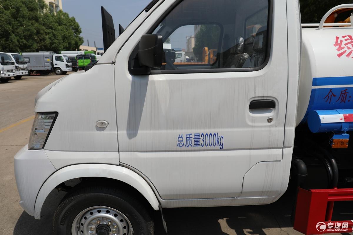 北汽昌河福瑞达K21国六1.54绿化喷洒车门标