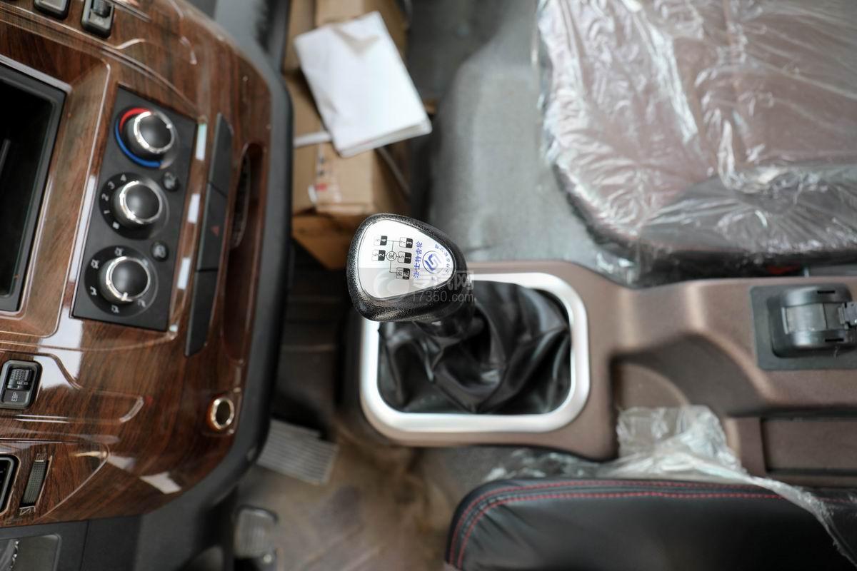 大运新奥普力国六单排平板运输车变速箱