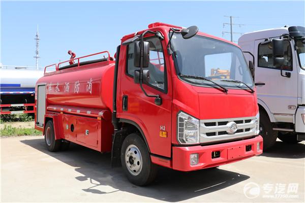 消防洒水车与洒水车有什么不同