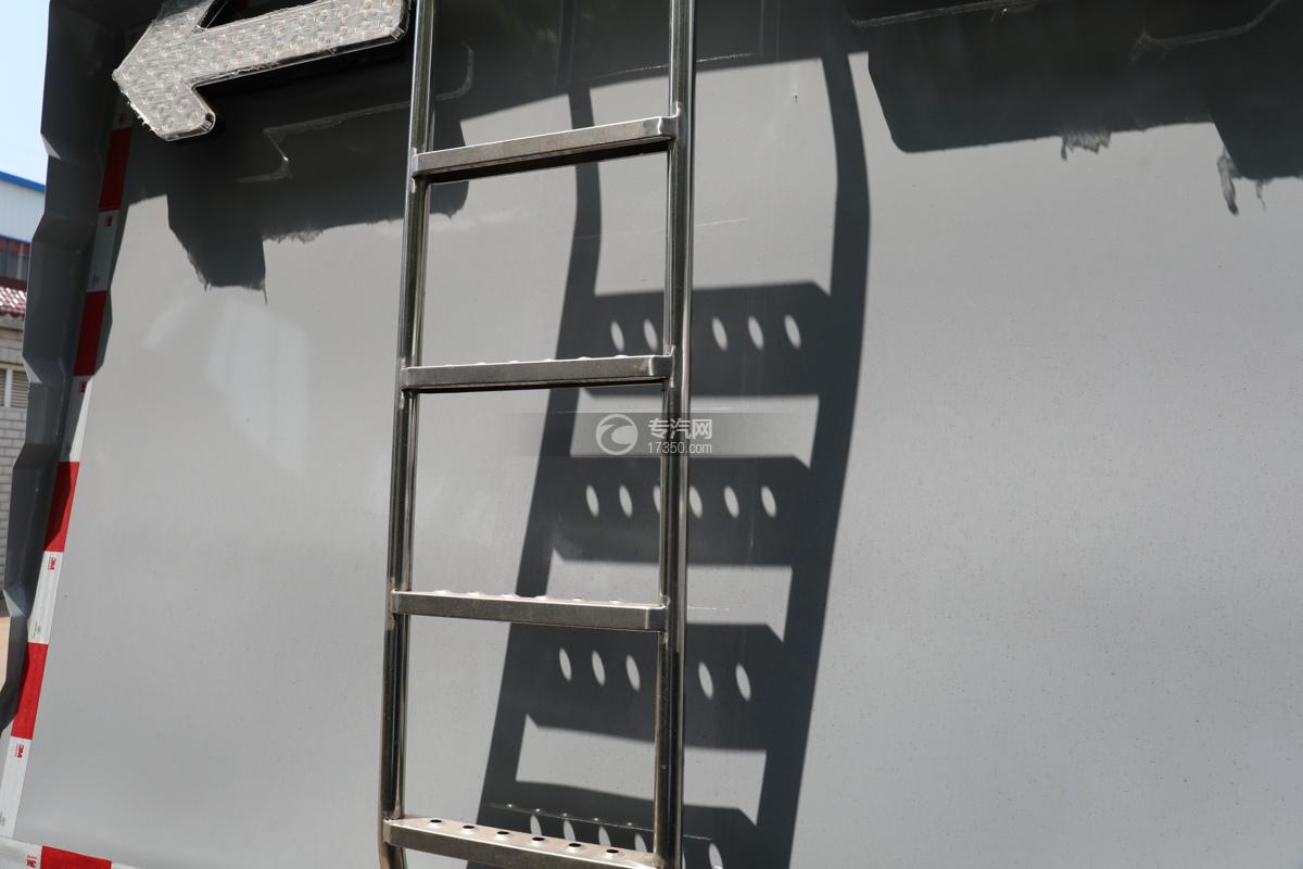 江铃顺达国六护栏清洗车爬梯