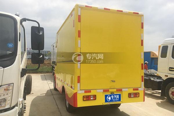 东风小康国六移动售货车左后图