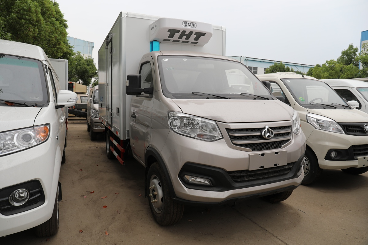 重慶長安跨越王X3國六3.2米冷藏車圖片