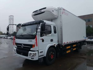 東風凱普特K8國五6.2米冷藏車圖片