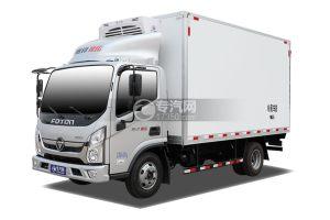 福田奧鈴速運國六藍牌4.08米冷藏車