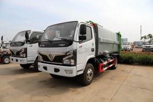 東風福瑞卡F7國六自裝卸式垃圾車圖片