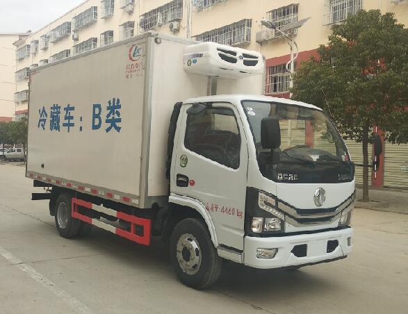 東風多利卡國六4.1米冷藏車