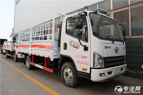 畅销款 解放虎VH国五5.1米气瓶运输车你了解吗?