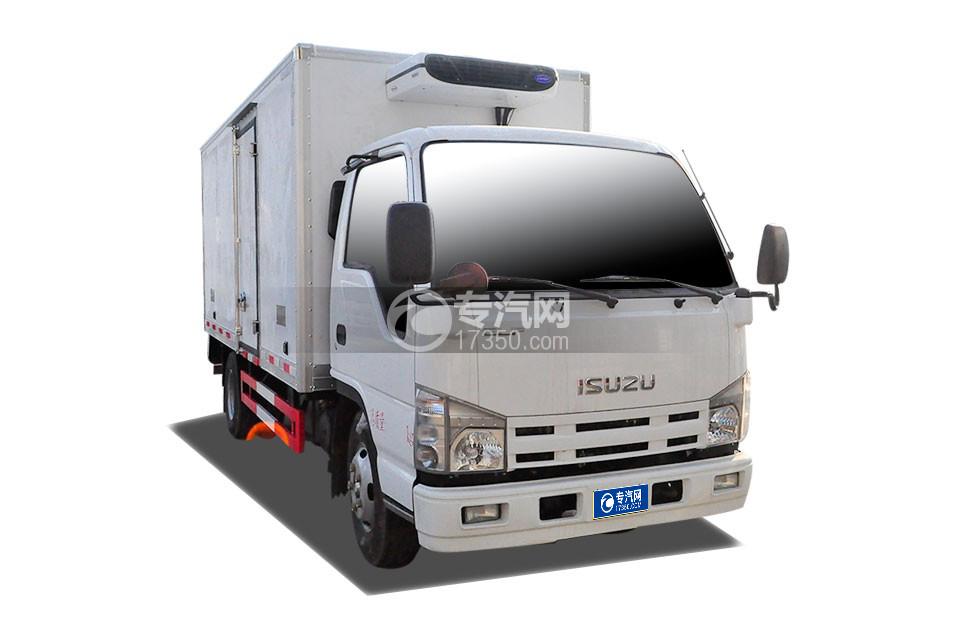 五十铃100P国六4.1米冷藏车