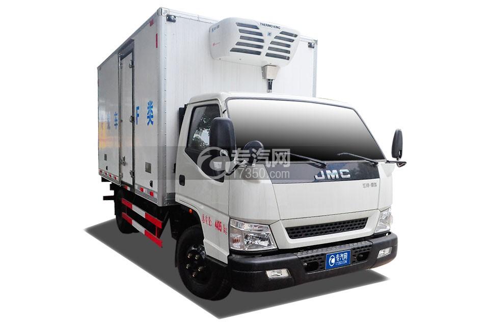 江铃顺达宽体国五4.1米冷藏车