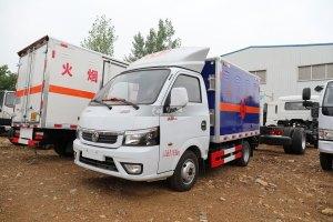 东风途逸T5Q国六3米易燃液体厢式运输车图片