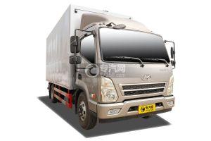 四川现代盛图5.12米厢式货车