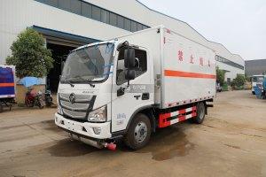 福田欧马可S1国六4.1米易燃气体厢式运输车图片