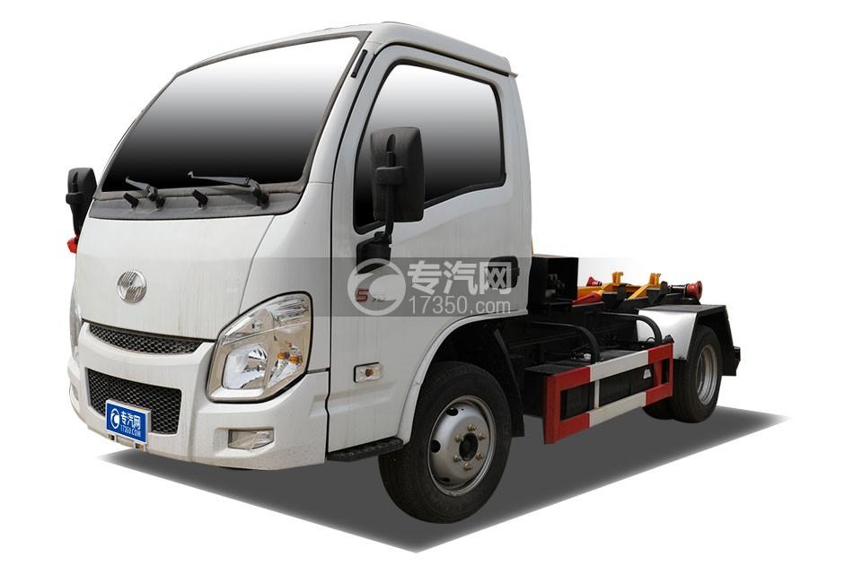 躍進小福星國六車廂可卸式垃圾車