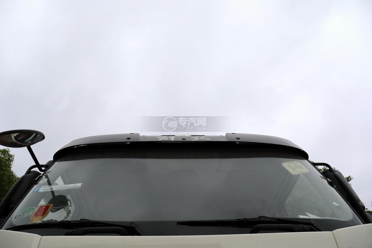 解放J6P前四后八国六拖吊联体清障车遮阳罩