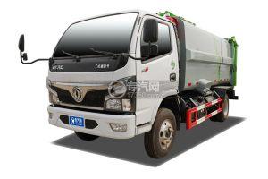 东风福瑞卡F7国六自装卸式垃圾车
