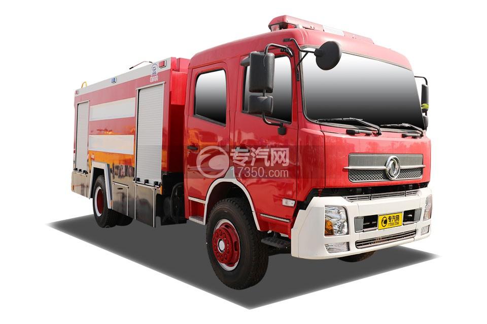 東風天錦水罐消防車