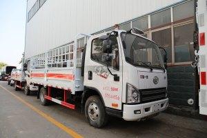 解放虎VN國六4.1米氣瓶運輸車(倉欄款)圖片