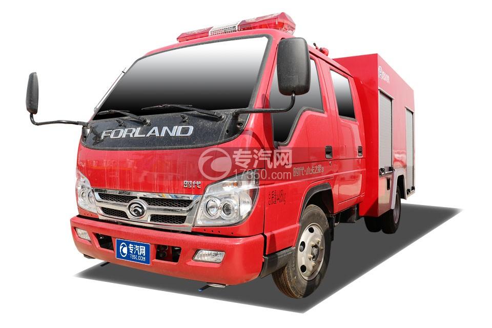 福田時代小卡之星3雙排消防救險車