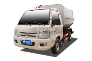 福田馭菱自裝卸式垃圾車