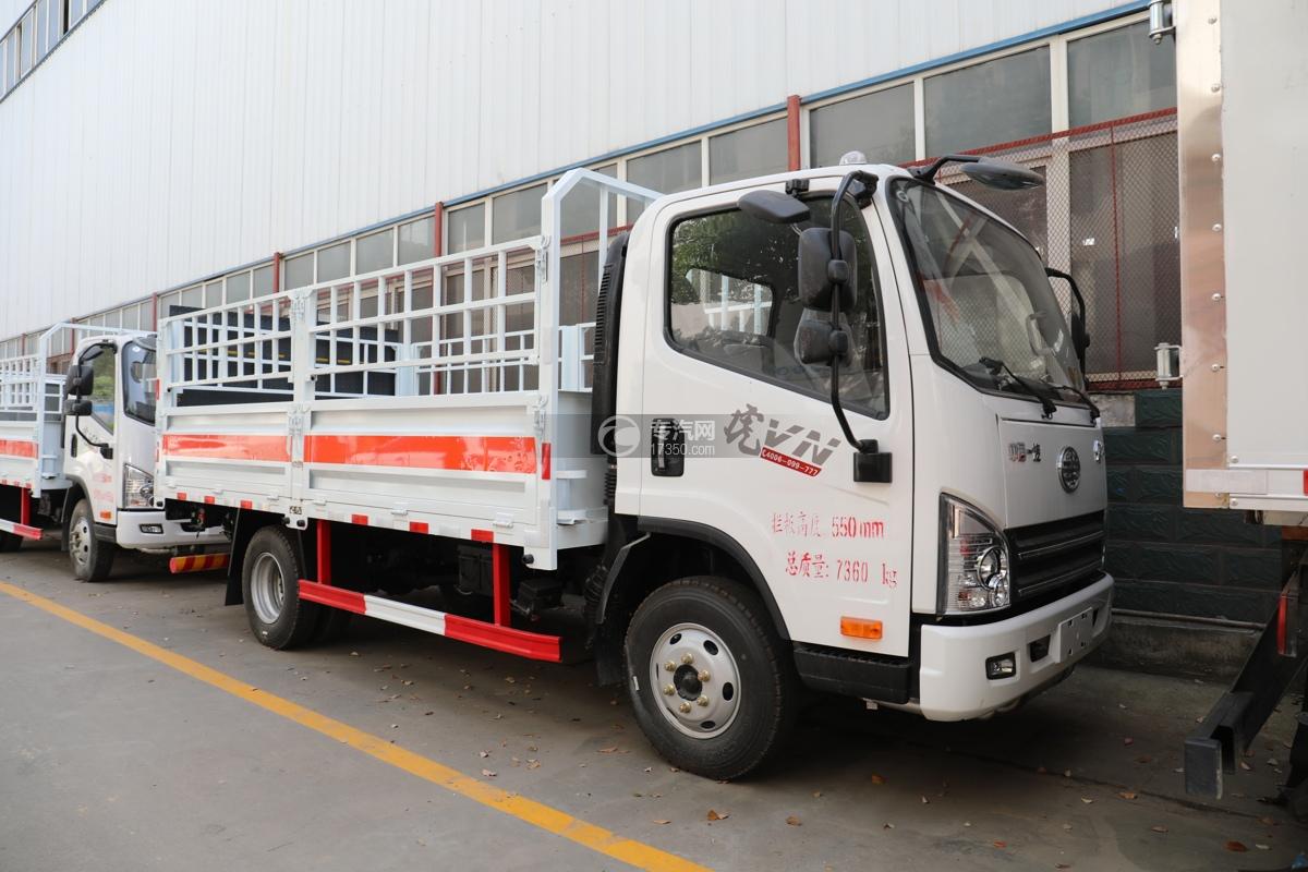 解放虎VN国五4.15米气瓶运输车