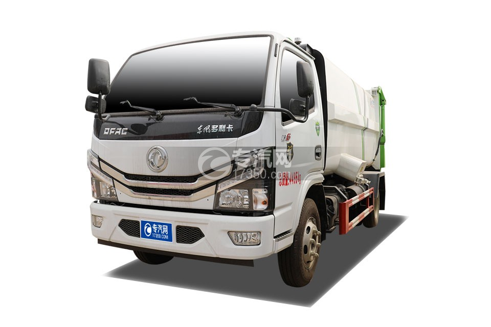东风小多利卡国六自装卸式垃圾车