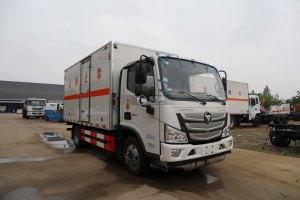 福田歐馬可S1國六4.1米易燃液體廂式運輸車圖片