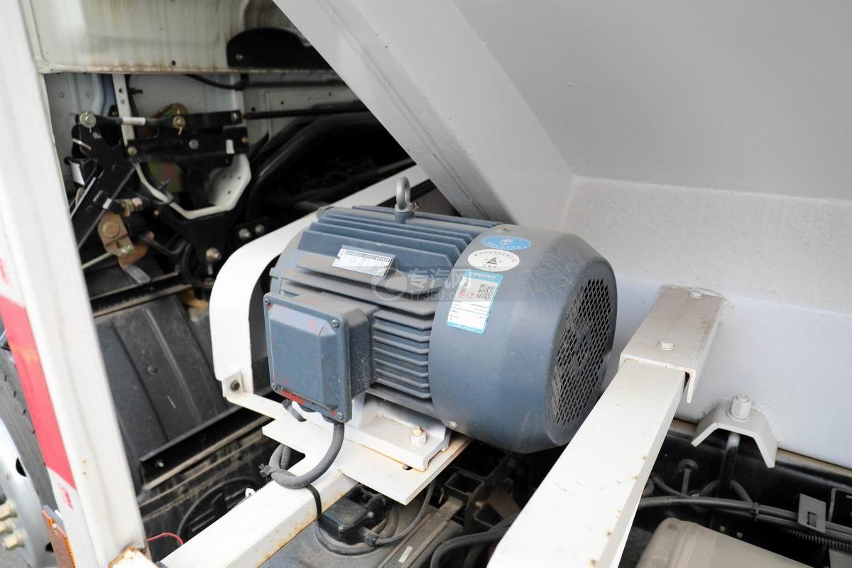 解放J6F单桥国六散装饲料运输车电机
