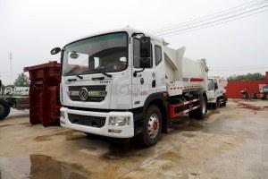 東風多利卡D9國六車廂可卸式垃圾車圖片