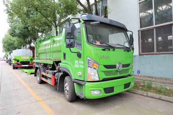 解析这款东风拓行天然气餐厨式垃圾车的配置与优势