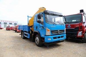 大运运途6.3吨折臂随车吊(蓝色)图片