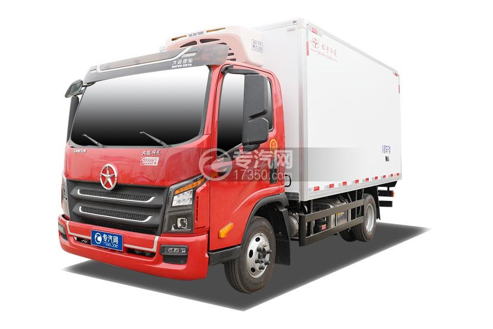 大運祥龍單排國六4米冷藏車