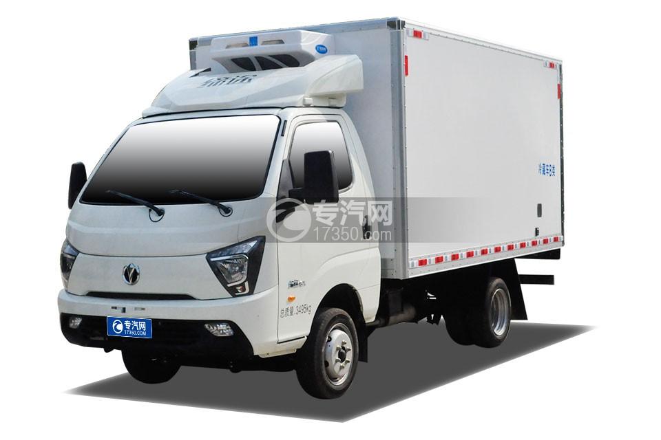 飛碟締途國六3.5米冷藏車